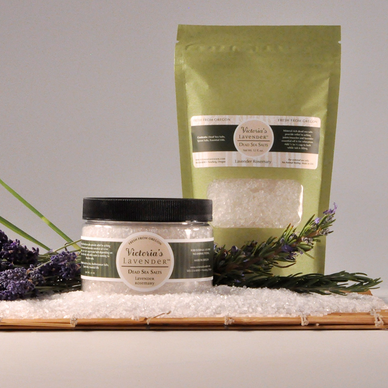 Bath Salts Lavender Rosemary