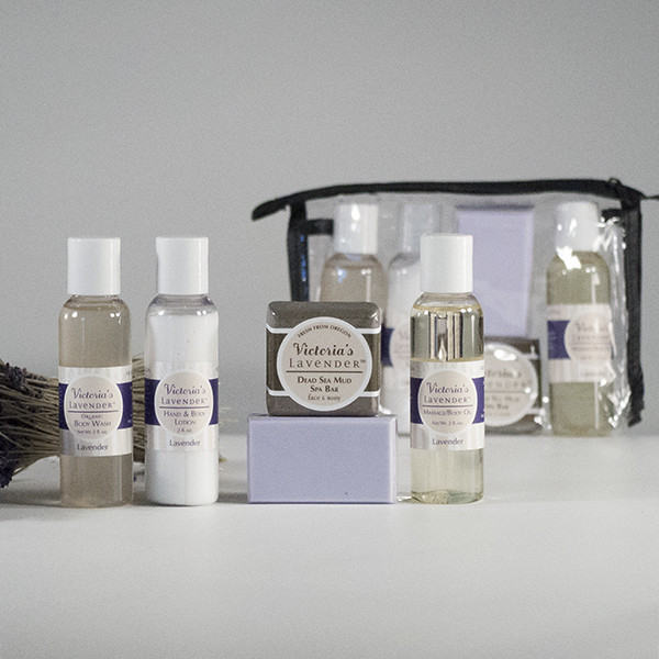 Victoria's Lavender Travel Set