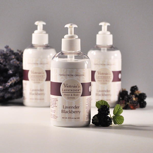 Lavender Blackberry Hand and Body Lotion