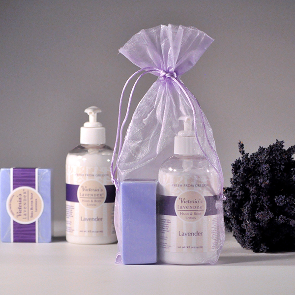Lavender Lotion and Soap Gift Set