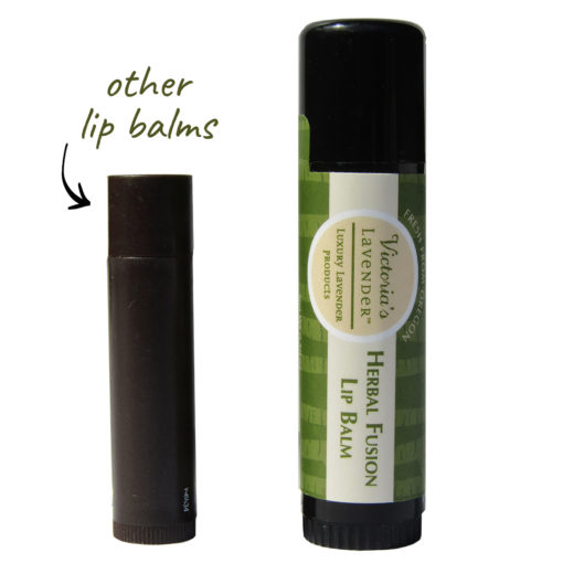 Our lip balm versus ordinary lip balms